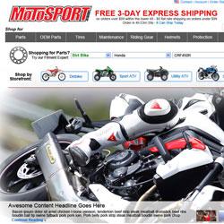 MotoSport Redesign Concept